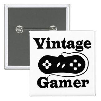 Vintage Gamer Buttons