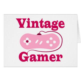 Vintage Gamer Card