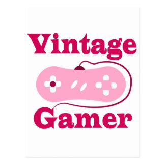 Vintage Gamer Postcard