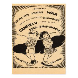 Vintage Games Postcards