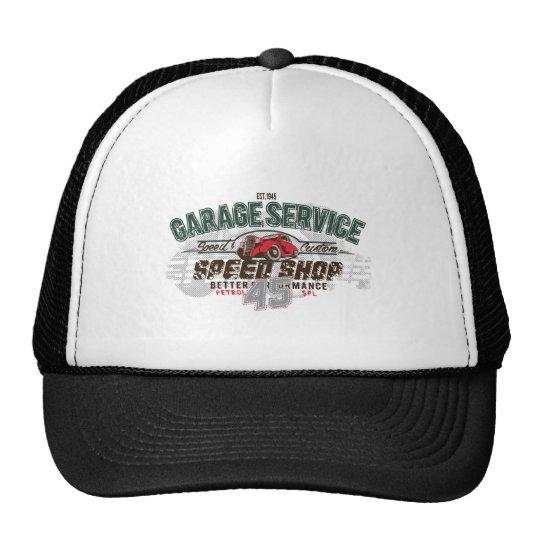 Vintage Garage Trucker Hat