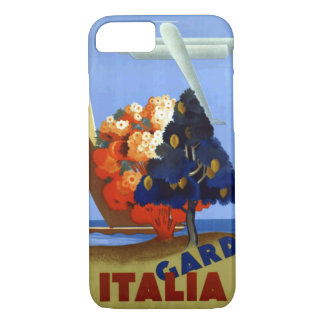 Vintage Garda Italy Air Travel iPhone 7 Case