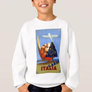 Vintage Garda Italy Europe Air Travel Sweatshirt