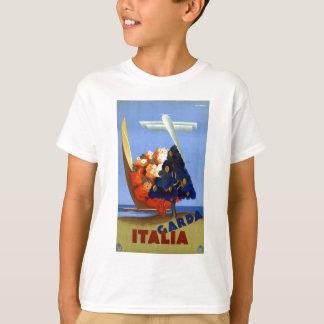 Vintage Garda Italy Europe Air Travel T-Shirt