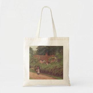 Vintage Garden Art - Allingham, Helen Budget Tote Bag