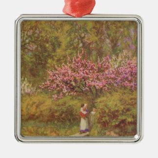 Vintage Garden Art - Allingham, Helen Metal Ornament