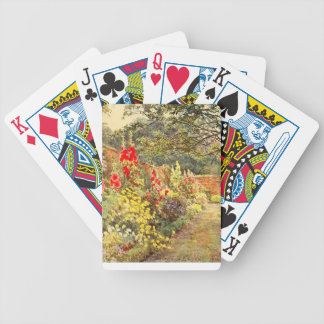 Vintage Garden Art - Elgood, George S. Bicycle Playing Cards