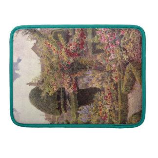Vintage Garden Art - Elgood, George S. MacBook Pro Sleeve
