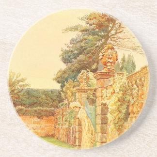 Vintage Garden Art - Elgood, George S. Sandstone Coaster