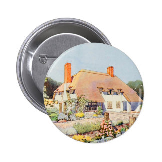 Vintage Garden Art - Kay, Claud J. Pinback Button