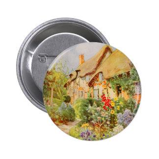 Vintage Garden Art - Nicolls, George F. 2 Inch Round Button
