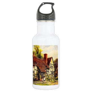 Vintage Garden Art - Quinton, Alfred 18oz Water Bottle