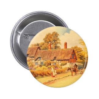Vintage Garden Art - Quinton, Alfred 2 Inch Round Button