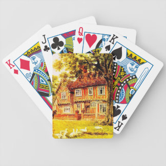 Vintage Garden Art - Quinton, Alfred Bicycle Playing Cards