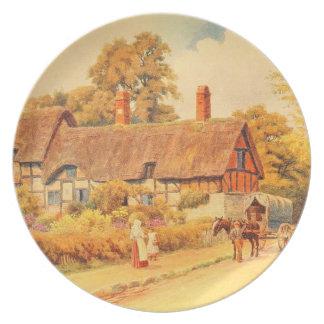 Vintage Garden Art - Quinton, Alfred Melamine Plate