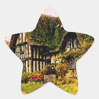 Vintage Garden Art - Quinton, Alfred Star Sticker