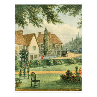 Vintage Garden Art - Repton, Humphry Postcard