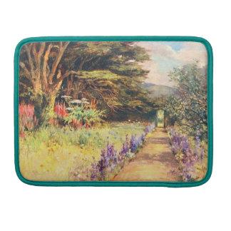 Vintage Garden Art - Wilson, Mary G.W. Sleeve For MacBook Pro