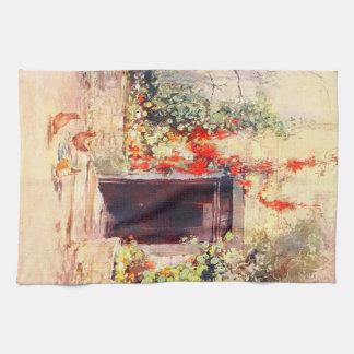 Vintage Garden Art - Wilson, Mary GW Towel