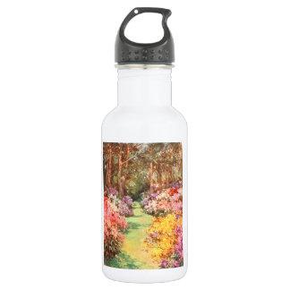 Vintage Garden Art - Wilson, Mary GW Water Bottle