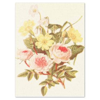 Vintage Garden Bouquet Tissue Paper
