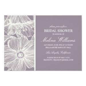 VINTAGE GARDEN | BRIDAL SHOWER INVITATION 5