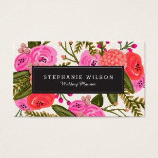 vintage garden business card