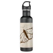 Vintage Garden Butterfly Water Bottle