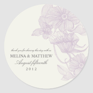 VINTAGE GARDEN | FAVOR LABELS