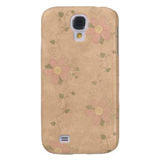 Vintage Garden Floral 3G/3GS Galaxy S4 Case
