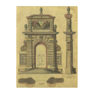 Architecture Wood Wall Art Zazzle