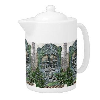 Vintage Garden Grate Teapot