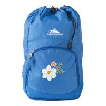 Vintage Garden High Sierra Backpack, Blue High Sierra Backpack