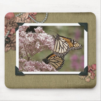Vintage Garden Mouse Pad