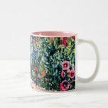 Vintage Garden Rain Mug
