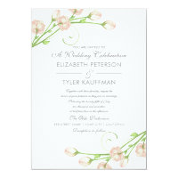 Vintage Garden Roses - Wedding Invitations