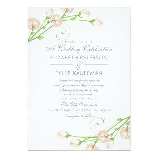 Vintage Garden Roses - Wedding Invitations