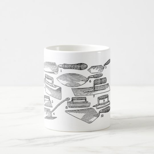 Vintage Garden Tools Coffee Mug