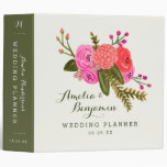 Vintage Garden Wedding Binder