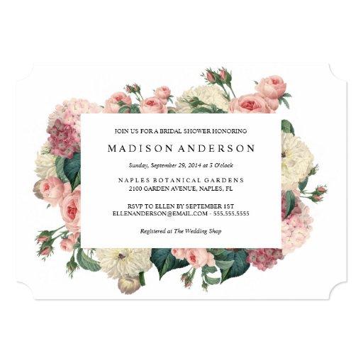Garden theme wedding invitations ideas for your wedding for Garden wedding invitation designs