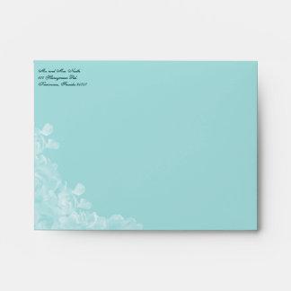 "Vintage Gardenia Envelope 5 "" x 4"" Fr Note Cards"