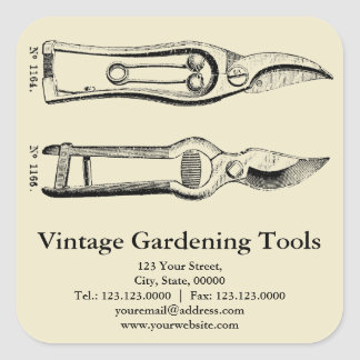 Vintage garden tools gifts on zazzle for Gardening tools vintage