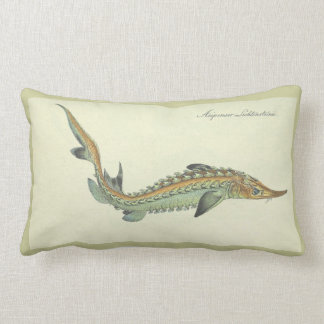 vintage garfish pillow