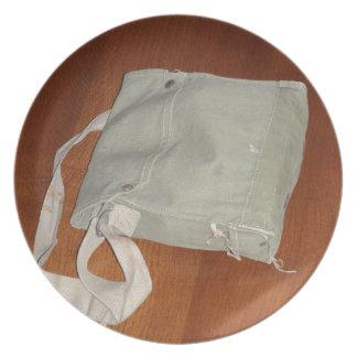 Vintage Gas Mask Bag Plates