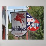 Vintage Gasoline Advertising Signs