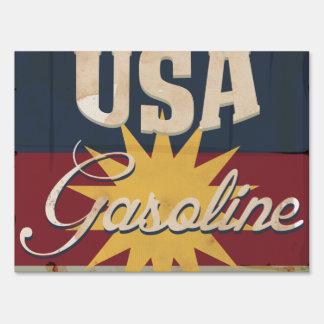 Vintage Gasoline Sign