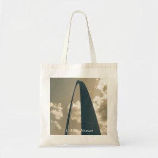 Vintage Gateway Arch Tote Bag