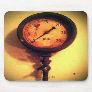 vintage gauge photo mousepad