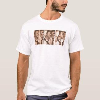 Vintage Gay Men Sailors Kiss Navy DADT T-Shirt