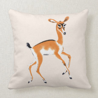 Vintage Gazelle Pillow